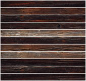 Parallel tiles of wood Stock Photography