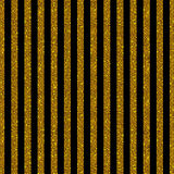 Parallel Vertical lines. Gold sequins. Stars. Royalty Free Stock Photo