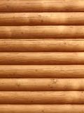 Parallel wooden logs Stock Photo