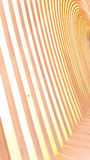 Parallel wooden Royalty Free Stock Images