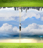 Parallel worlds Royalty Free Stock Photography
