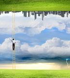 Parallel worlds Royalty Free Stock Images