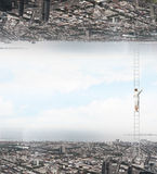 Parallel worlds Stock Photography