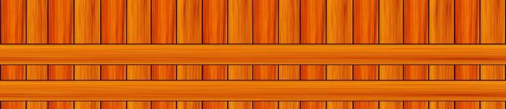 Parallele horizontale Linien vertikale Panoramabretter des Musters Lizenzfreies Stockfoto