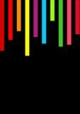 parallele Linien der Vertikale Stockfoto