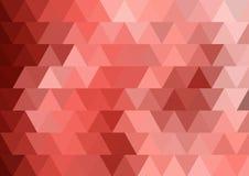 Parallele Struktur des Dreieckhintergrundes lizenzfreie abbildung