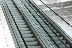 Parallell closeup för rulltrappa två royaltyfri foto