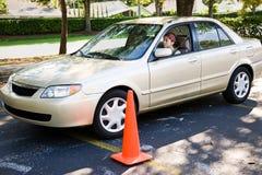 parallell parkering Arkivbilder