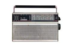 Parallell radio som isoleras på vit bakgrund arkivfoton