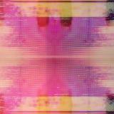 Parallell textur för TVtekniskt felbakgrund arkivbild