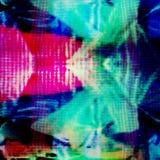 Parallell textur för TVtekniskt felbakgrund royaltyfria bilder