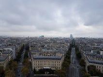Parallella stadsgator i Paris Fotografering för Bildbyråer
