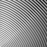 Parallella vinkande linjer bakgrund för designmonokrom Royaltyfri Foto