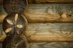 Parallelle houten benentextuur Kan als achtergrond voor adreskaartjes worden gebruikt Royalty-vrije Stock Foto's