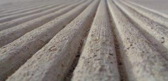 Parallelle Lijnen die naar een Horizon bereiken Stock Fotografie