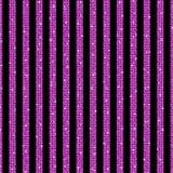 Parallelle Verticale lijnen Roze lovertjes Sterren royalty-vrije illustratie