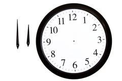 parallellla pilar clock avskilt Royaltyfria Foton