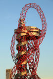 Paralymics London 2012. LONDON - SEPT 07: Orbit Tower in Olympic Park during the Paralympics on September 07, 2012, in London, England Royalty Free Stock Photos