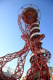 Paralymics London 2012. LONDON - SEPT 07: Orbit Tower in Olympic Park during the Paralympics on September 07, 2012, in London, England Royalty Free Stock Photography