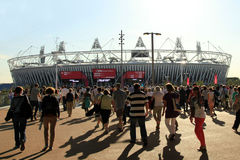 Paralymics Londra 2012 Immagine Stock