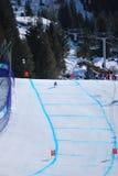 Paralympic die bergaf skiô Stock Afbeeldingen