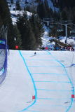 Paralympic Downhill Skiing Stock Images
