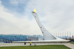 Paralympic-Flamme Stockfotografie