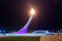 Paralympic-Flamme Stockfotos