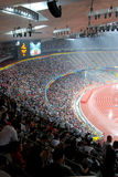 Paralympic stadium. Inside the national stadium(also named as Bird's nest ) of the Beijing 2008 Paralympic Games Royalty Free Stock Images