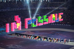 Paralympic winter games 2014 royalty free stock photos