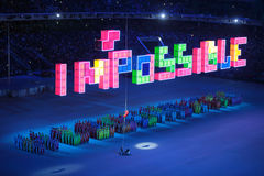 Paralympic winter games 2014 Royalty Free Stock Image