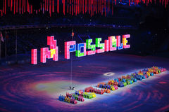 Paralympic winter games 2014 Royalty Free Stock Images