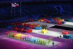 Paralympic-Winterspiele 2014 lizenzfreie stockbilder