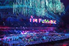 Paralympic-Winterspiele 2014 lizenzfreie stockfotografie