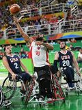 Paralympics Games 2016 Basketball royalty free stock photography