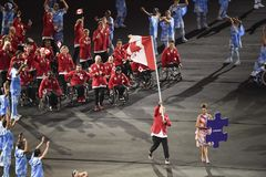 Paralympics Rio 2016 Lizenzfreie Stockfotos