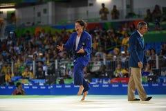 Paralympicspelen - judo stock afbeeldingen