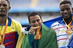 Paralympicspelen Rio 2016 stock foto