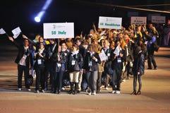 Paralympische Spiele-europäische Sommer-Spiele Lizenzfreie Stockfotografie