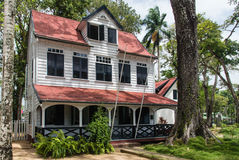 Paramaribo Architecture Stock Photo