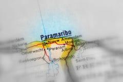Paramaribo, a city in the Suriname.