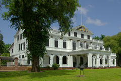 Paramaribo presidential palace Royalty Free Stock Photos