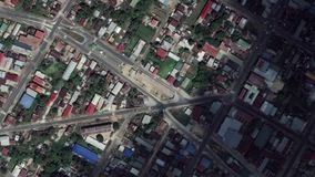 Earth Zoom In Zoom Out Paramaribo Suriname. Paramaribo Suriname seen from space to street level. It can easily be used for tourism marketing videos, business stock footage