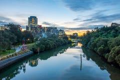 Paramatta-Stadt, Australien Stockfotografie