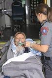 Paramedic employee Stock Photo