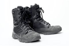 Paramedic EMS boots Royalty Free Stock Images