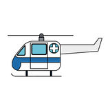 Paramedic health icon image Royalty Free Stock Images
