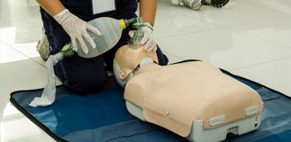 Paramedic Training Royalty Free Stock Photography