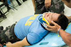 Paramedic Training Stock Images