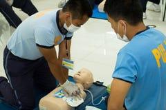 Paramedic Training Royalty Free Stock Image